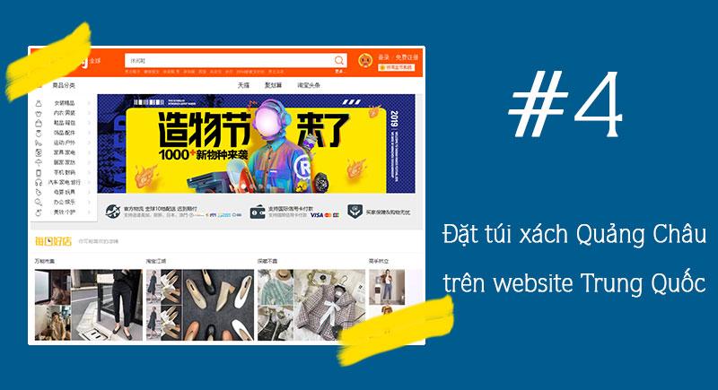 Nhập trực tiếp giá sỉ tận gốc qua website Trung Quốc