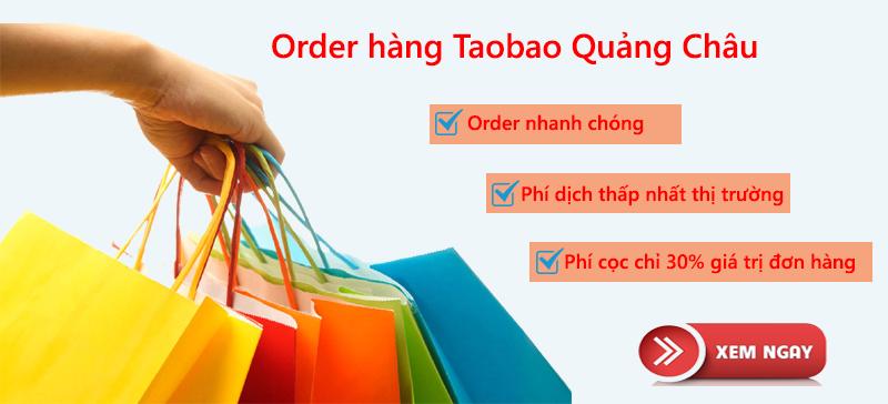 Tổng hợp kinh nghiệm order hàng taobao Quảng Châu
