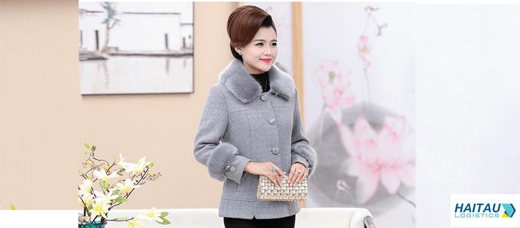 Nhập áo dạ cổ lông Quảng Châu về kinh doanh