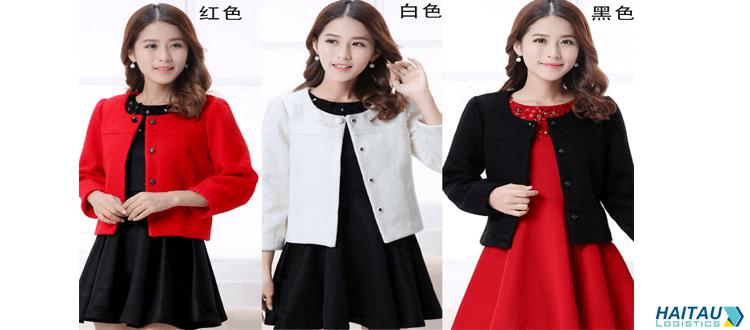Mẫu áo khoác dạ Quảng Châu dáng ngắn cá tính