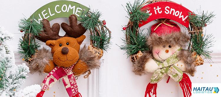 Nhập nguồn vòng nguyệt quế cho trang trí cho ngày giáng sinh