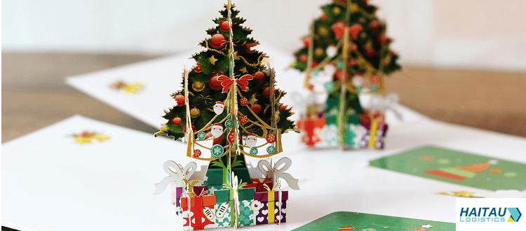 Thiệp Noel 3D đẹp cho ngày lễ giáng sinh 2019