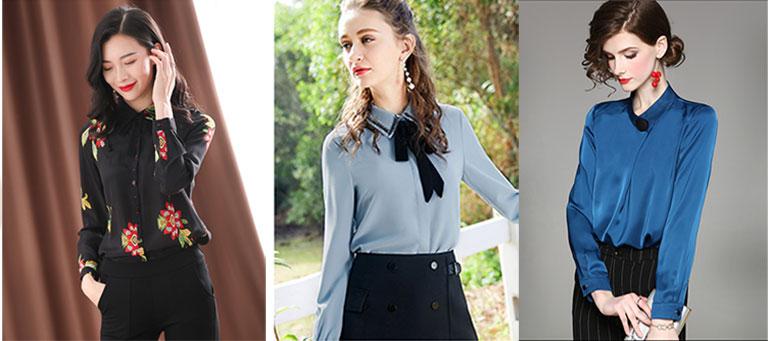 Một số mẫu áo sơ mi Quảng Châu đẹp