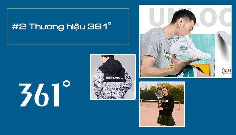Thương hiệu thể thao cao cấp Trung Quốc - 361