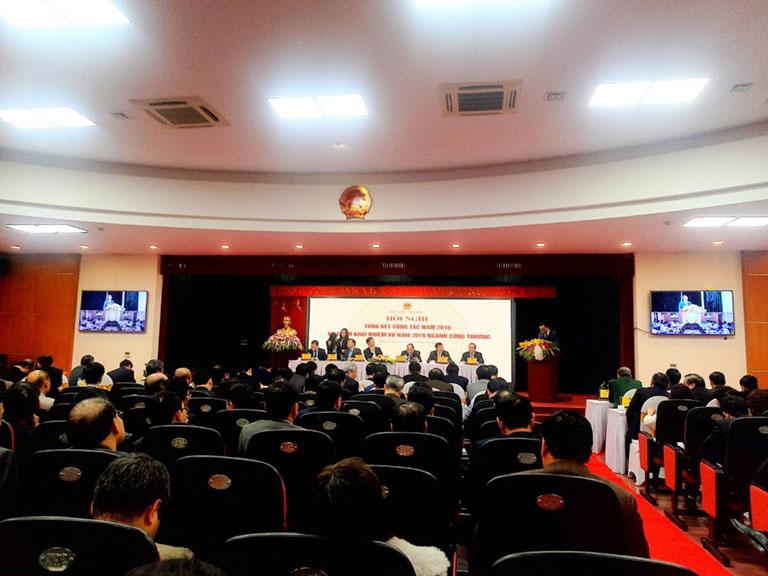 Hội nghị tổng kết công tác năm 2018 và dự kiến triển khai năm 2019 ngành công thương