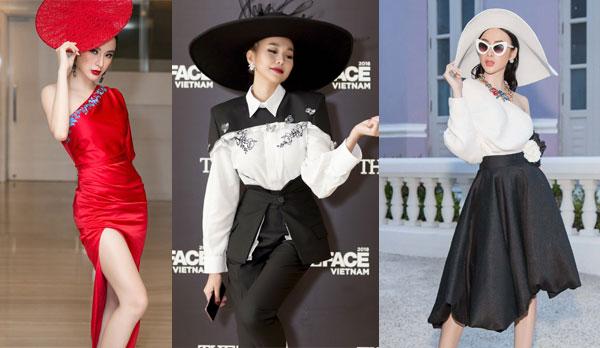 Xu hướng thời trang mũ vành rộng càn quét sao Việt năm 2018