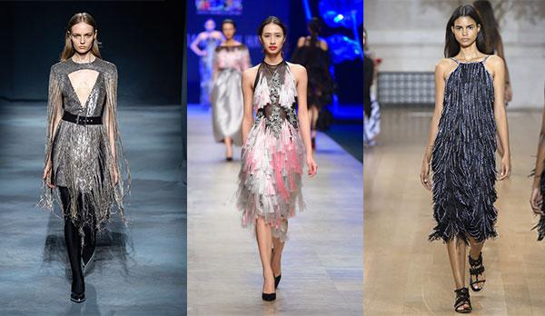 Váy tua rua xu hướng mới 2019