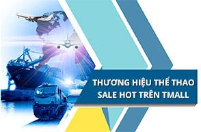 Thương hiệu thể thao lớn sale hot trên Tmall ngày 7/3 -9/3
