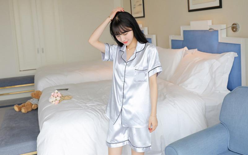 Bộ đồ ngủ Pijamas lụa