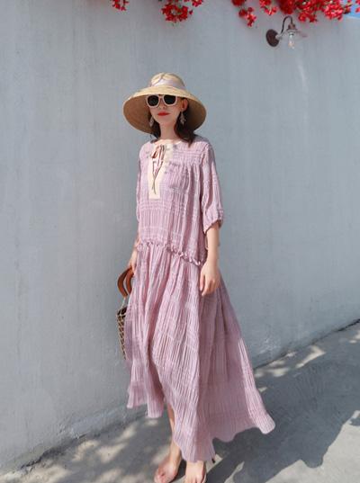 Váy đầm maxi Quảng Châu 12