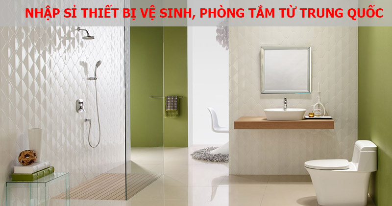Nhập sỉ thiết bị phòng tắm trên website trung quốc