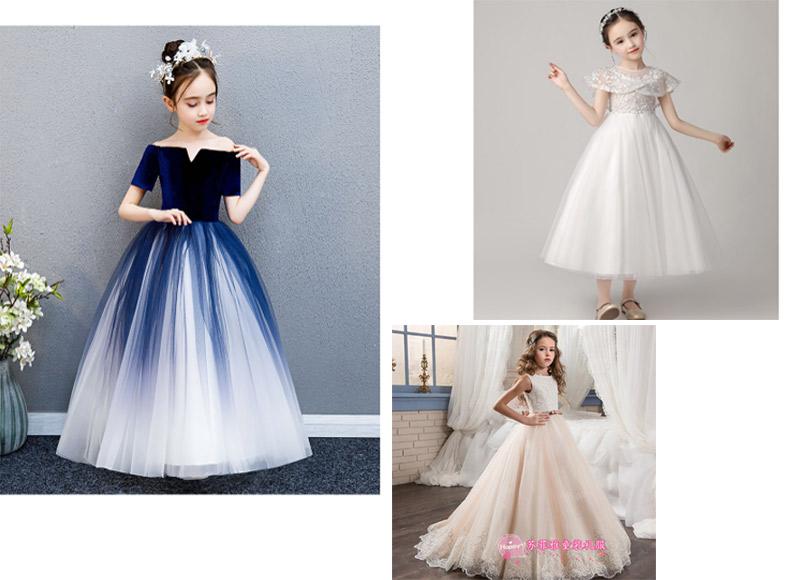 Mẫu váy đầm công chúa Quảng Châu 01