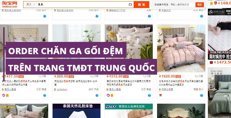 Kinh nghiệm order trên các trang TMĐT Trung Quốc