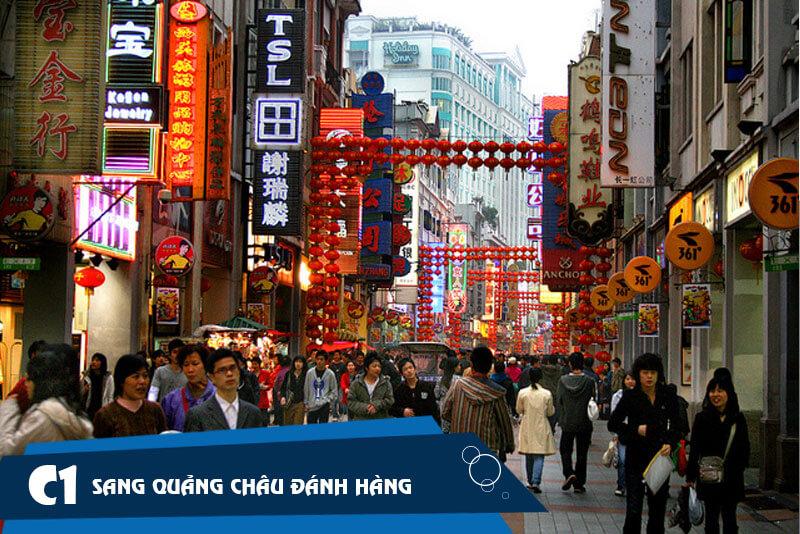 Trực tiếp sang Trung Quốc nhập sỉ áo măng tô nam