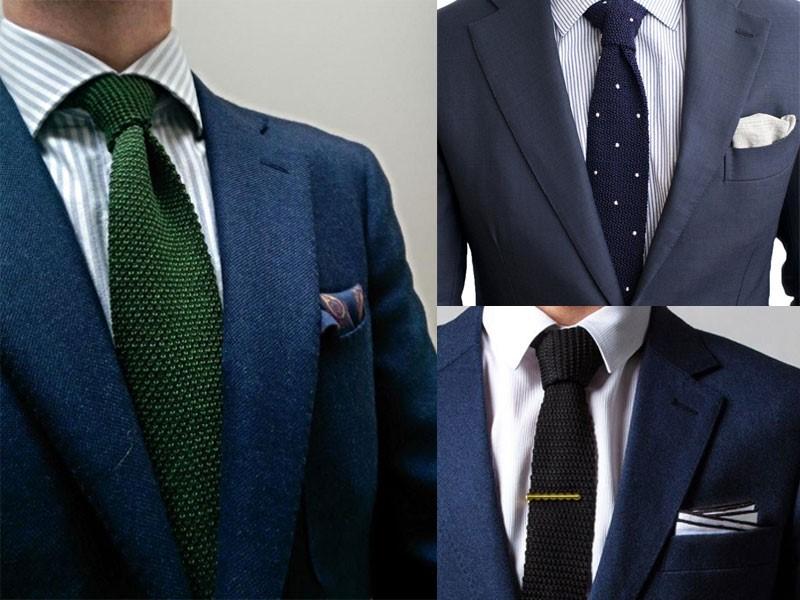 Cà vạt len nổi bật tinh tế