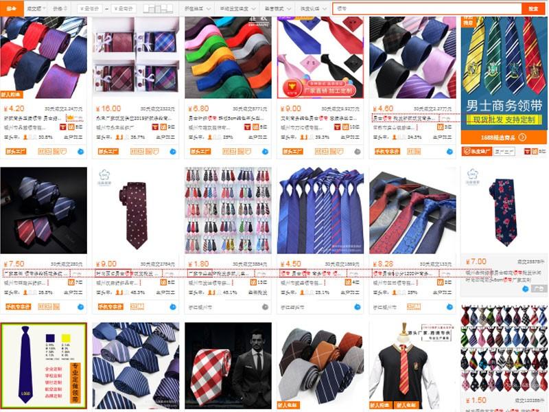 Nguồn nhập cà vạt nam giá rẻ trên trang TMĐT