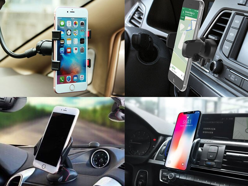 Giá đỡ điện thoại trên ô tô đa năng