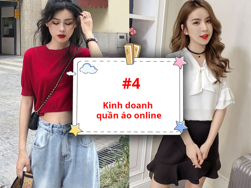 Kinh doanh quần áo online nhỏ lẻ