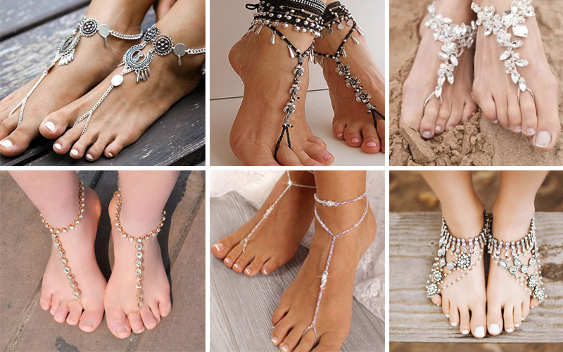 Mẫu vòng chân nữ đẹp