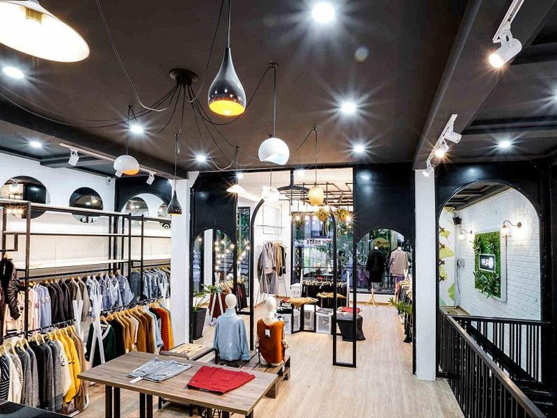 Nhập trực tiếp tại các shop kinh doanh quần áo Quảng Châu