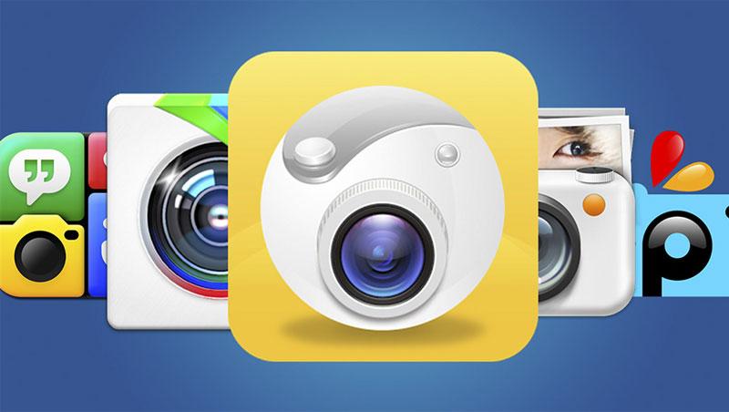 App chụp ảnh đẹp nhất - Camera 360