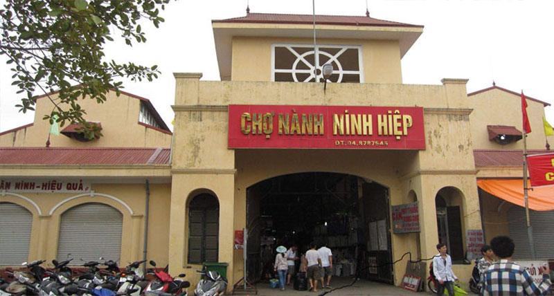 Chợ nhập hàng Trung Quốc - chợ Ninh Hiệp