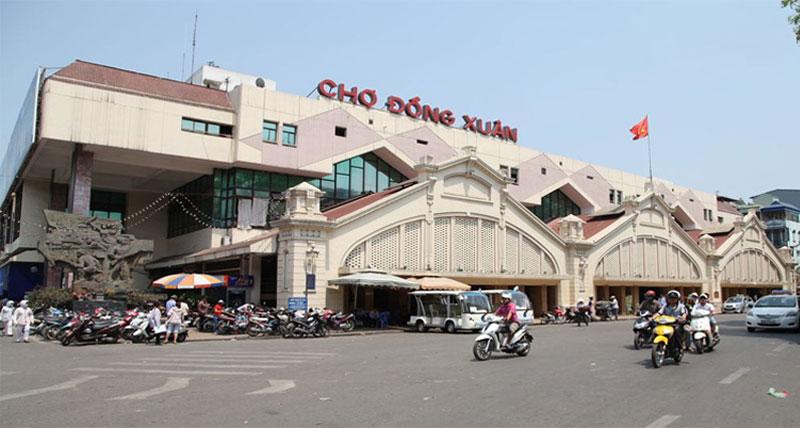Chợ nhập hàng Trung Quốc - chợ Đồng Xuân
