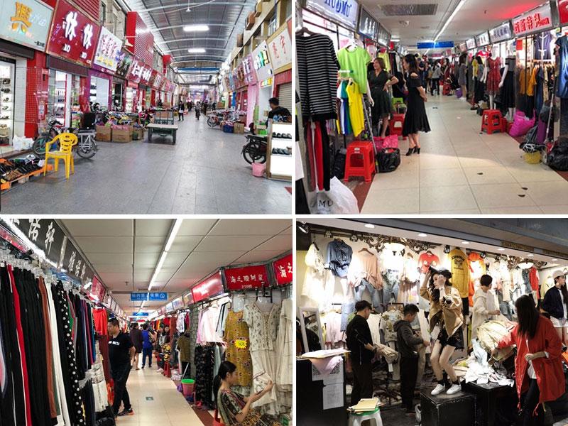 Chợ quần áo giá sỉ Phúc Li