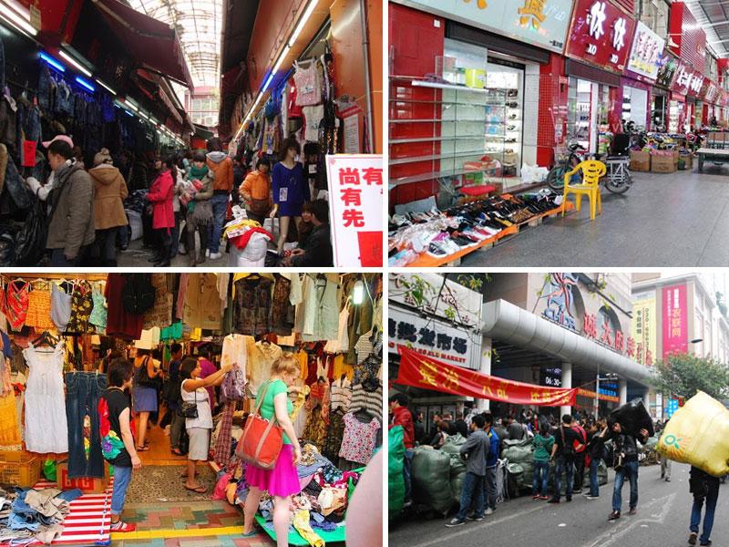 Chợ quần áo Thiên Mã