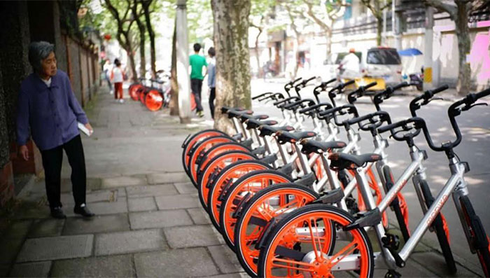 Phương tiện di chuyển khi đi du lịch Quảng Châu - xe đạp