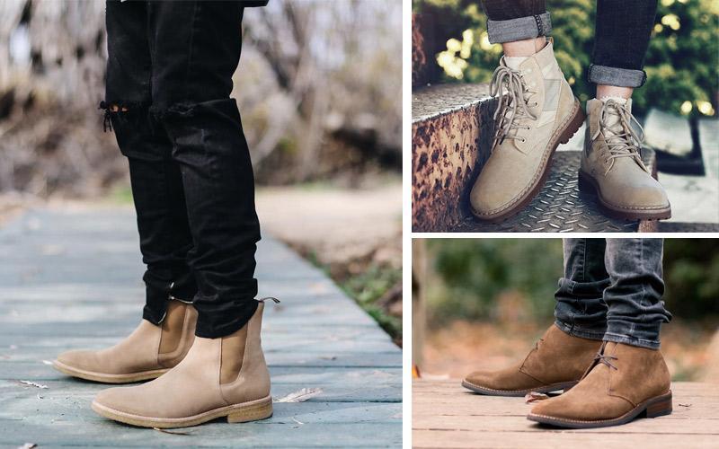 Giày bụi nam cao cổ