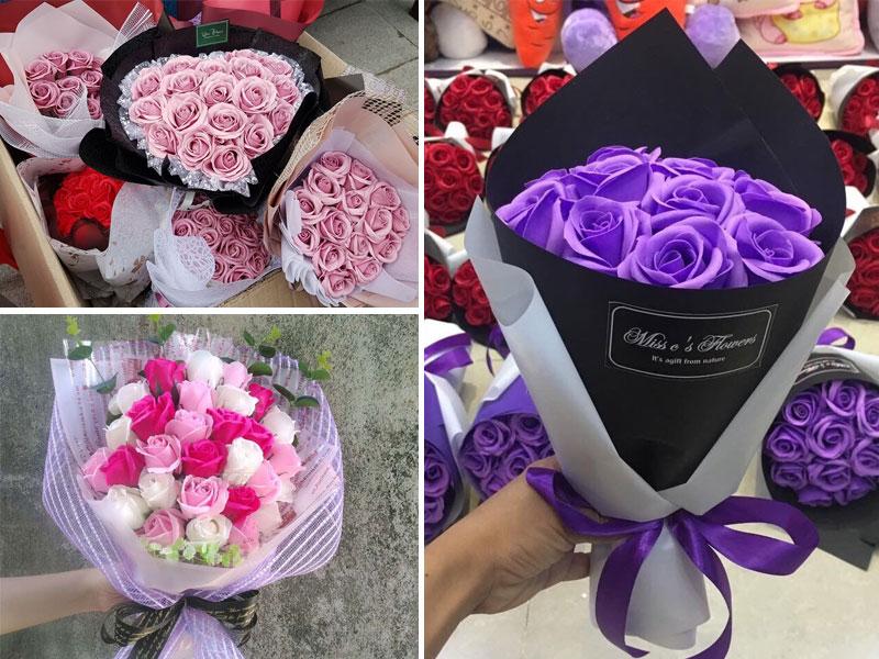 Hoa sáp có màu sắc bắt mắt, hương thơm nhẹ nhàng