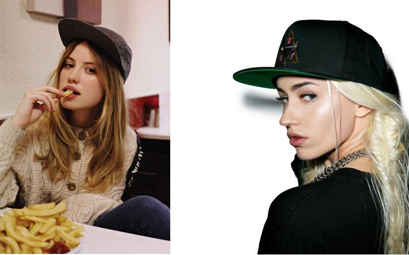 Mẫu mũ lưỡi trai nữ chất phong cách hip hop
