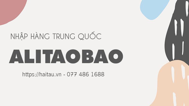 Nhập hàng Quảng Châu Alitaobao