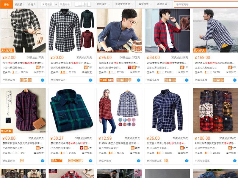 Đặt mua áo fannel uy tín, chất lượng trên website TMĐT Trung Quốc