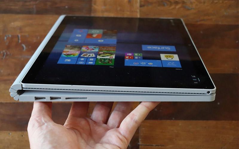 Surface Book có thể tháo rời, xoay thành nhiều hình dạng khác nhau