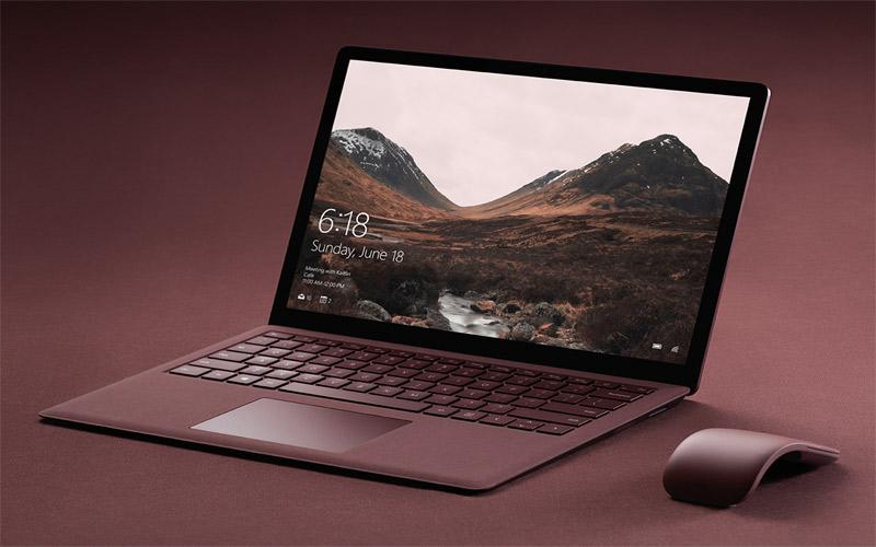 Surface Laptop - chiếc máy tính đẹp nhất thế giới