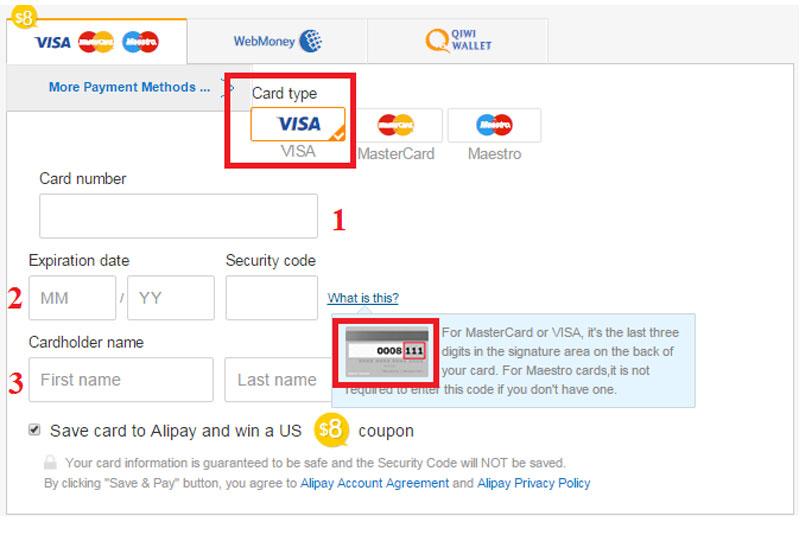 Hình thức thanh toán trên website
