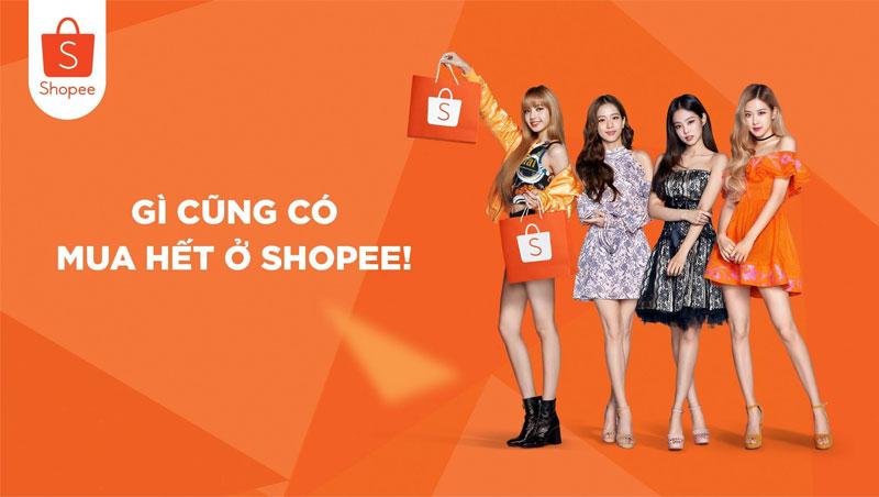 Shopee là sàn TMĐT bán hàng trực tuyến đứng đầu VN