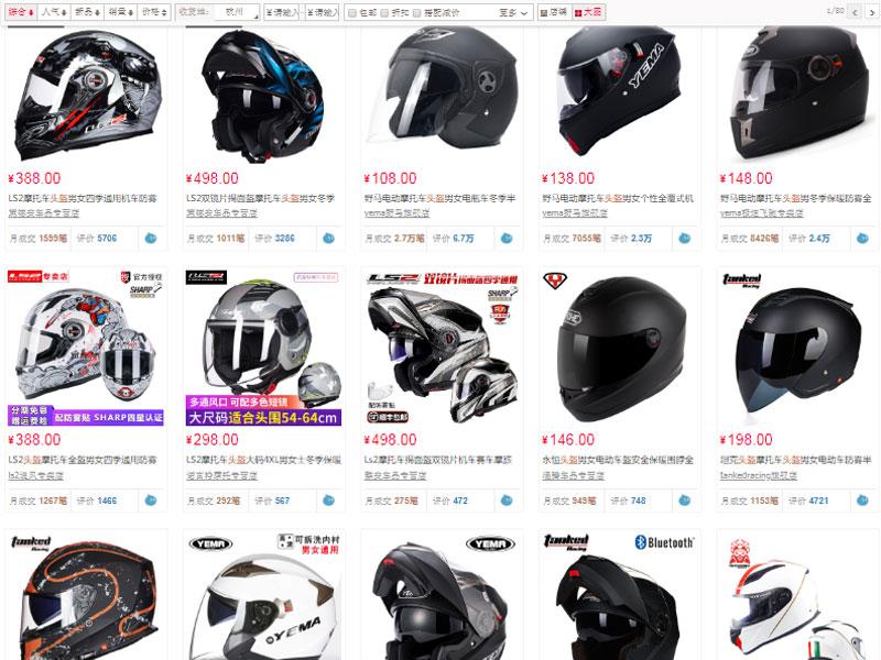 Nguồn hàng nón bảo hiểm chất lượng trên website