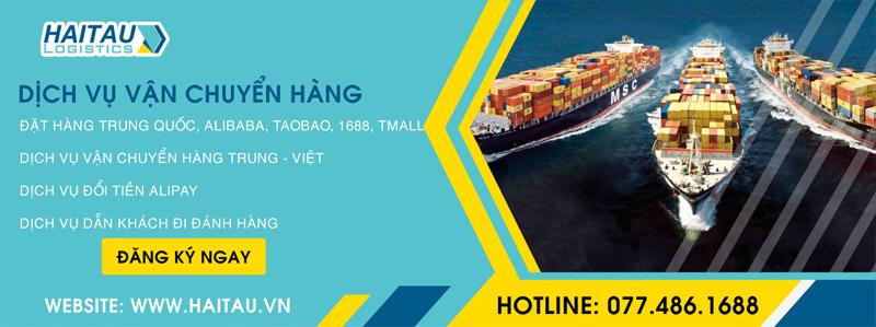 Nhập bộ đồ đi phượt giá rẻ trên website thông qua Hải Tàu Logistics