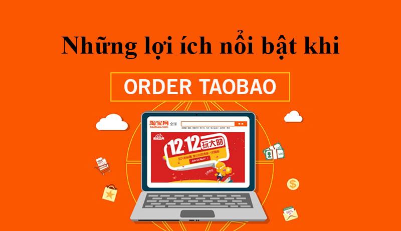 Những ưu điểm khi order hàng Trung Quốc trên Taobao