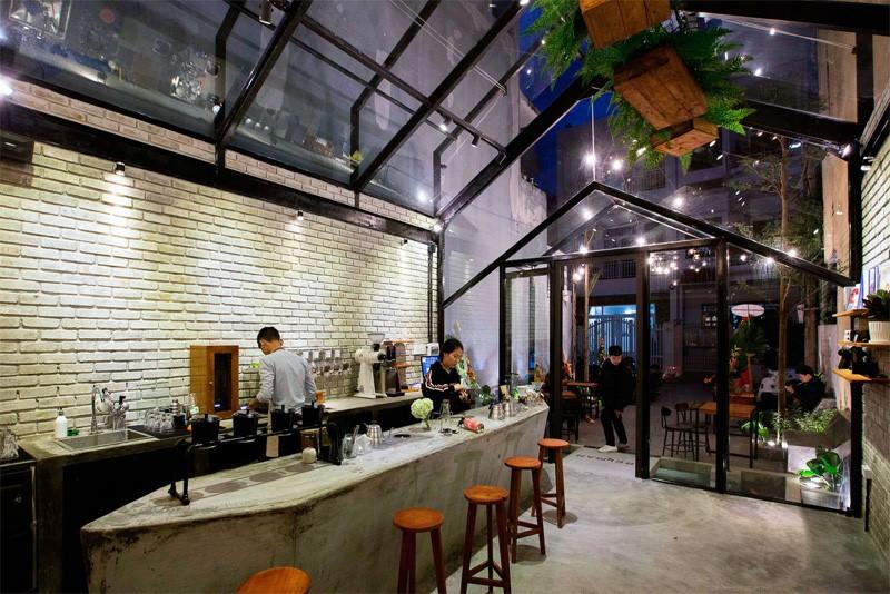 Lựa chọn không gian kinh doanh quán cafe