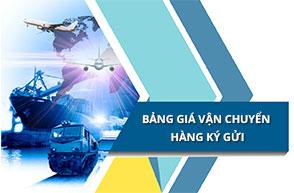 Bảng giá vận chuyển hộ từ Trung Quốc về Việt Nam qua haitau.vn