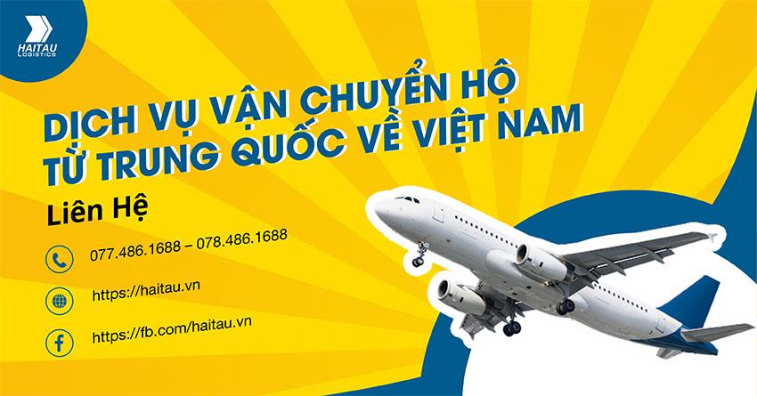 Dịch vụ vận chuyển hàng hộ từ Trung Quốc về Việt Nam